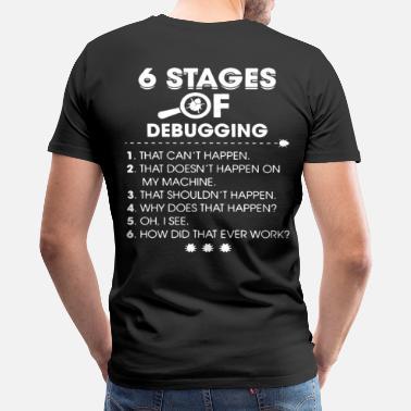 8874d0340 Geek Programmer Programmer Coder Funny T-Shirt - Men's Premium T-Shirt