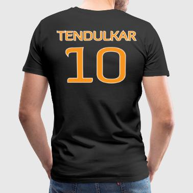 Tendulkar #10 shirt / jersey (in honor of 2011 World Cup Champion Indian Cricket Team) - Men's Premium T-Shirt