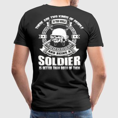 soldier chibi soldier  soldier's princess small  - Men's Premium T-Shirt