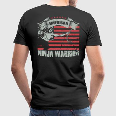American Ninja warrior lovers - Men's Premium T-Shirt