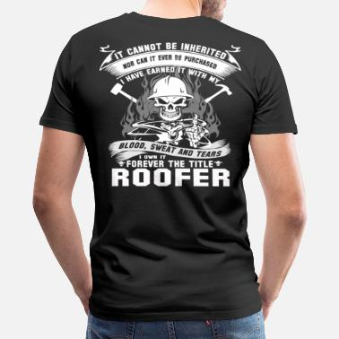 Roofers Roofer roofers roofer roofers coffee shop - Men's Premium T-Shirt