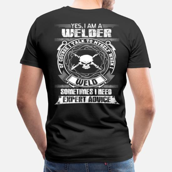 fc227e87 Men's Premium T-ShirtWelder funny welder sayings miller welders funn