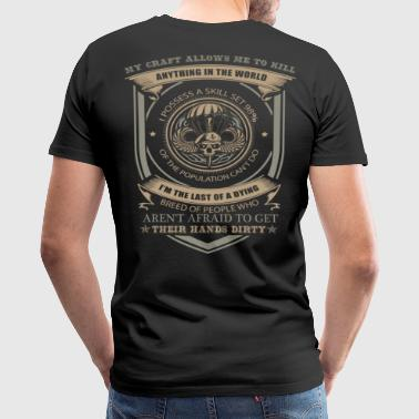 airborne 509th airborne 82nd airborne airborne a - Men's Premium T-Shirt