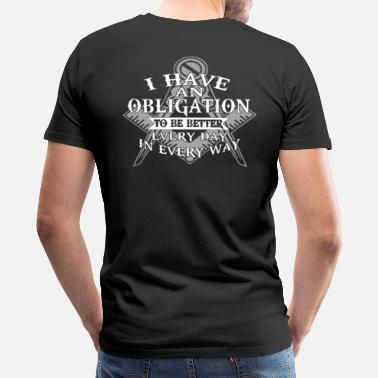 Masonic Better Every Day - Men's Premium T-Shirt