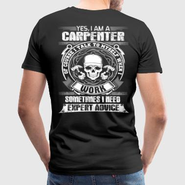 Saw Carpenter Carpenter carpenter saw carpenter jokes carpente - Men's Premium T-Shirt