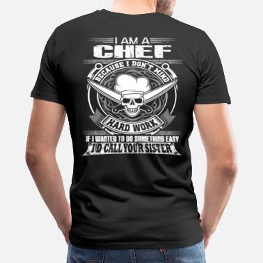 Chef Chef top chef chef cool chef curry master chef b - Men's Premium T-Shirt