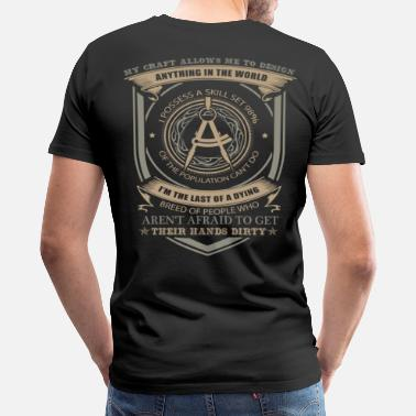 Civilization Civil Engineer civil engineering slogans civil e - Men's Premium T-Shirt