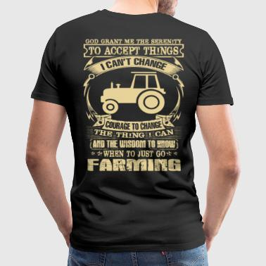 Farmer stupid farmer farmers union farmers horny - Men's Premium T-Shirt