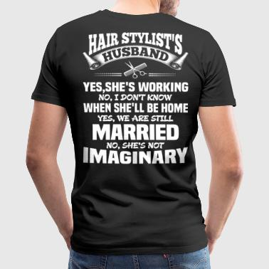 HAIR STYLIST'S HUSBAND - Men's Premium T-Shirt