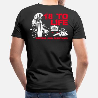 Truck Trucker trucker truckers geek things truckers sa - Men's Premium T-Shirt