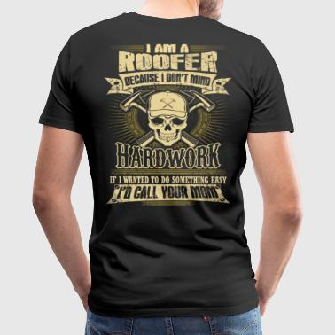 Roofer roofers coffee shop  roofer roofers - Men's Premium T-Shirt