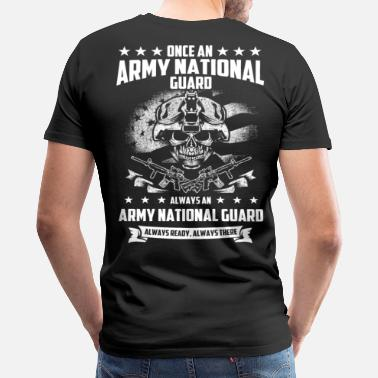 National Guard Apparel ARMY NATIONAL GUARD - FUNNY AND LOVE - Men's Premium T-Shirt