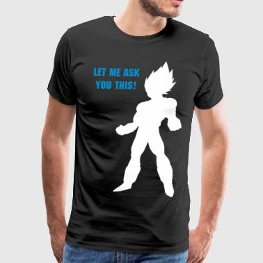 Vegeta - Men's Premium T-Shirt