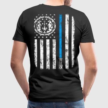 JEDI FLAG - Men's Premium T-Shirt