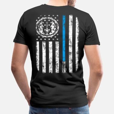 Skywalker JEDI FLAG - Men's Premium T-Shirt