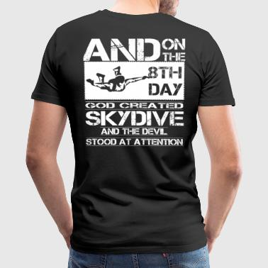 Skydive skydive cartoon Skydive skydive skydiver - Men's Premium T-Shirt