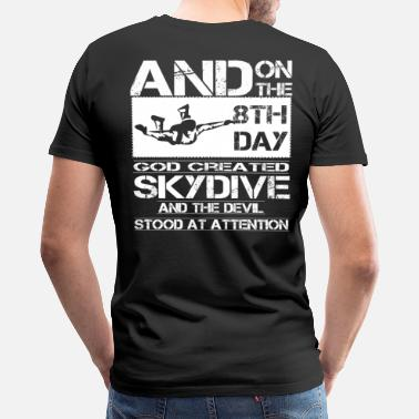Skydive Freefly Skydive skydive cartoon Skydive skydive skydiver - Men's Premium T-Shirt