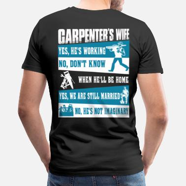 d1a30f7b Carpenter carpenter saw john carpenter funny car - Men's Premium T-Shirt