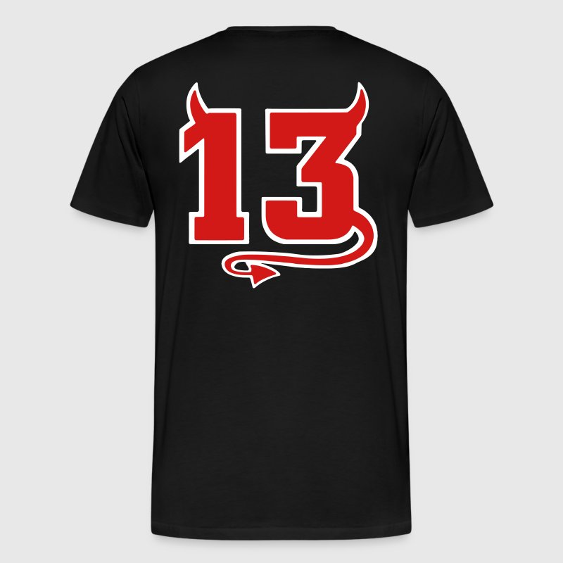 Lucky Devil 13 - Men's Premium T-Shirt