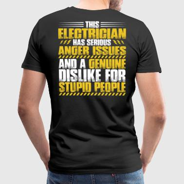 Electrician/Sparky/Electrical Worker/Technician - Men's Premium T-Shirt