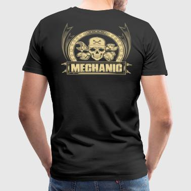 Lesbian Mechanic Mechanic redneck mechanic anime mechanic auto me - Men's Premium T-Shirt