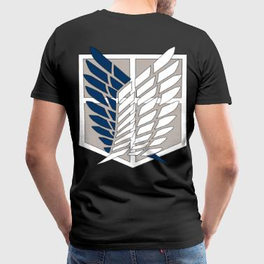 Attack on Titan - Men's Premium T-Shirt