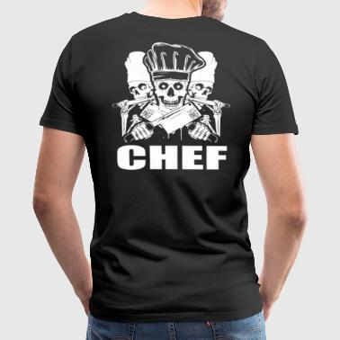 Chef pampered chef cook pastry chef design Chef  - Men's Premium T-Shirt