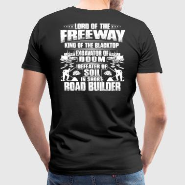 Road Racing Road Builder/Road Constructor/Road Worker/Gift - Men's Premium T-Shirt