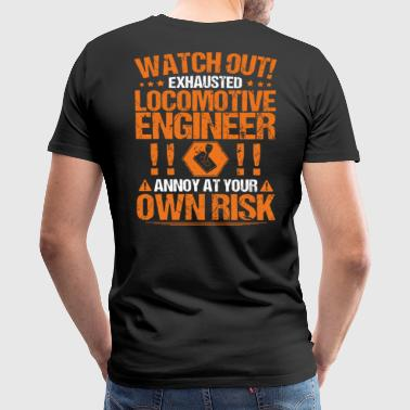Locomotive Locomotive Engineer/Train Driver/Railroad/Gift - Men's Premium T-Shirt