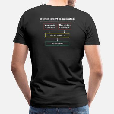 Bestseller Women aren't complicated BP W llkSPR - Men's Premium T-Shirt