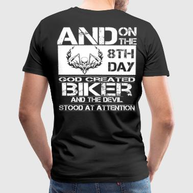 biker dirt bikers biker scene biker design biker - Men's Premium T-Shirt