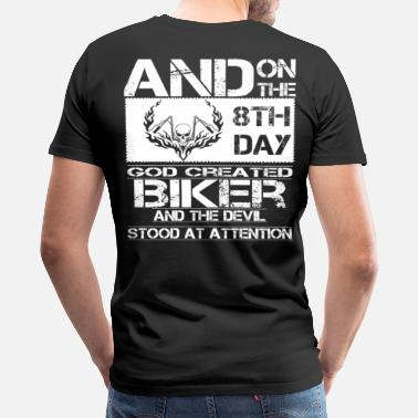 Biker Sayings biker dirt bikers biker scene biker design biker - Men's Premium T-Shirt