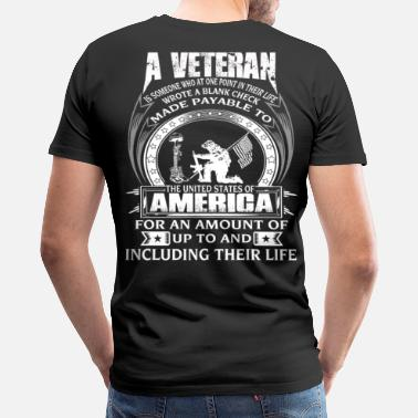 Vietnam Army Veteran Veteran vietnam veteran korean war veteran army  - Men's Premium T-Shirt