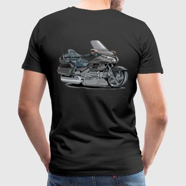 Goldwings Goldwing Grey Bike - Men's Premium T-Shirt