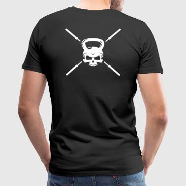 Skull and Bars - Men's Premium T-Shirt
