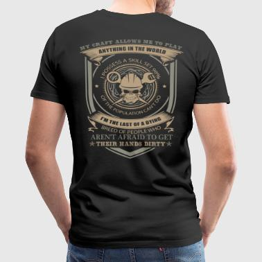 Engineer keep calm i'm chemical engineer enginee - Men's Premium T-Shirt