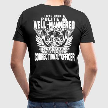 Correctional Officer correctional officer funny  - Men's Premium T-Shirt