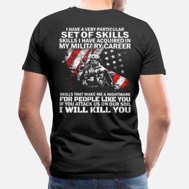 2ce114fc Badass Army, Army Wife, Military - Men's Premium T-Shirt