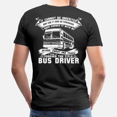 Nude Children Art Bus Driver nude bus driver fucker bus driver  bu - Men's Premium T-Shirt