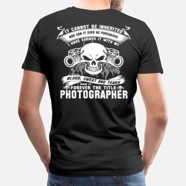 Official Photographer photographer photographer photographer journalis - Men's Premium T-Shirt