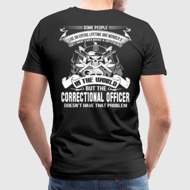 Correction Officer Apparel Correctional Officer correctional officer correc - Men's Premium T-Shirt