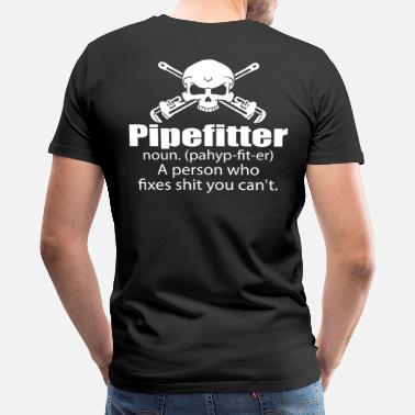 Pipefitters Pipefitter pipefitter - Men's Premium T-Shirt