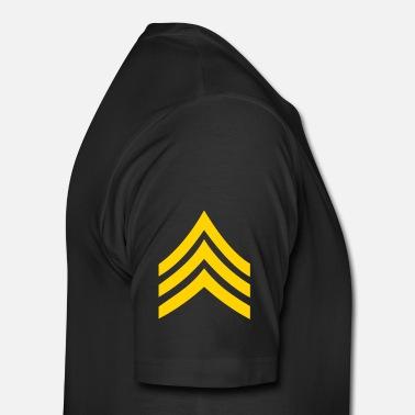 39027a6c Us Army army rank patch sergeant - Men's Premium T-Shirt