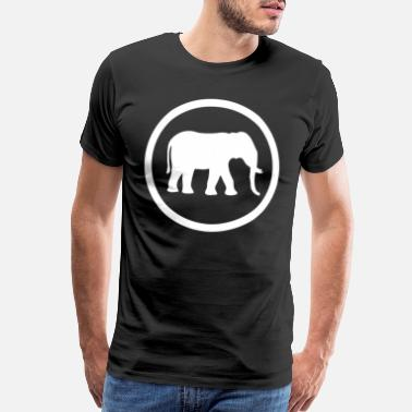 Lanka Funny Gift about Elephants - Men's Premium T-Shirt