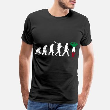 Island Boy Italy country gift evolution fitness - Men's Premium T-Shirt