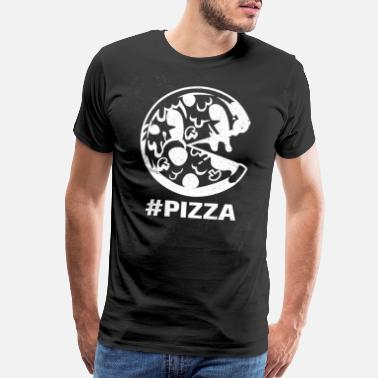 Pizza Man Pizza - Men's Premium T-Shirt