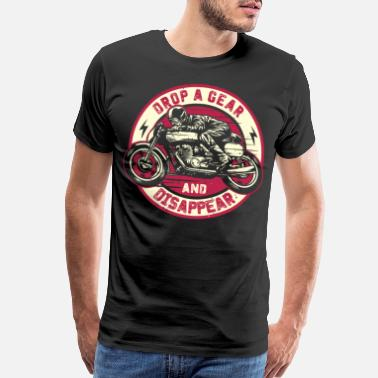 Sprocket Drop A Gear And Disapper - Men's Premium T-Shirt