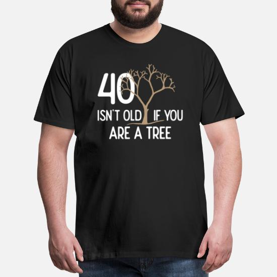 Mens Premium T Shirt40th Birthday Gift 40 Years Old Dad Uncle Brother