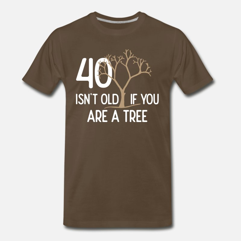 40th Birthday Gift 40 Years Old Dad Uncle Brother Mens Premium T Shirt