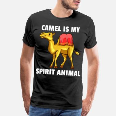 Humping Camel Lovers Hump Day Camels Funny Cute Gift - Men's Premium T-Shirt